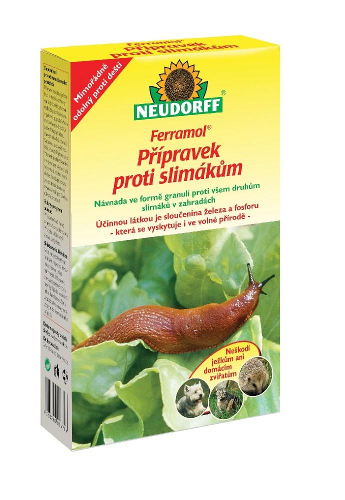 Ferramol - přípravek proti slimákům