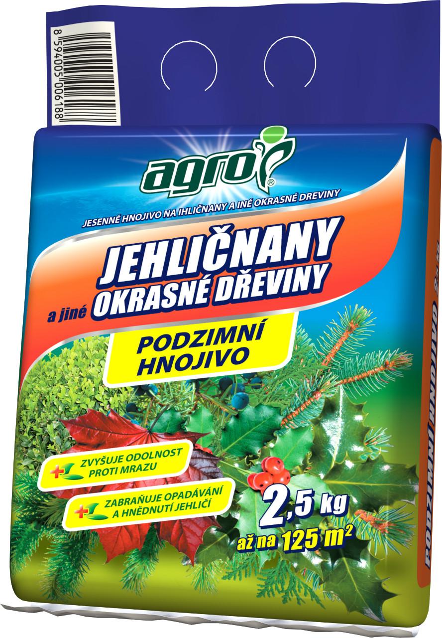 Podzimní hnojivo pro jehličnany a okrasné rostliny