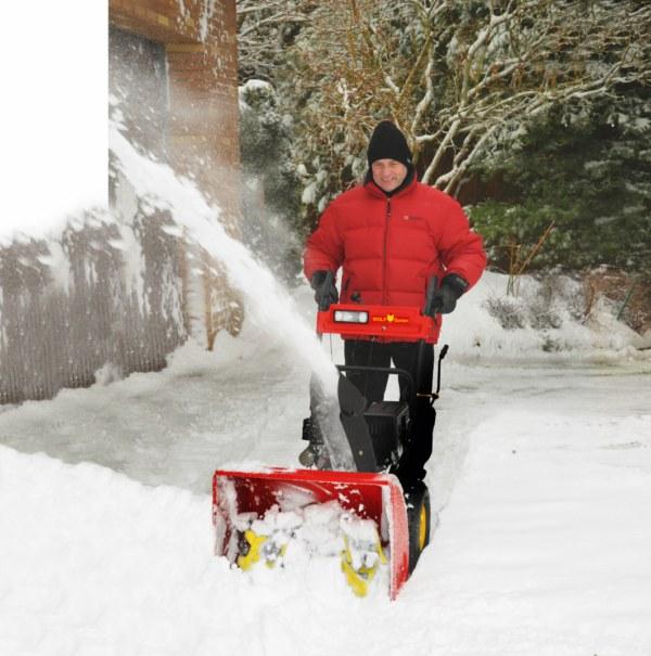 sněhová fréza Wolf-Garten
