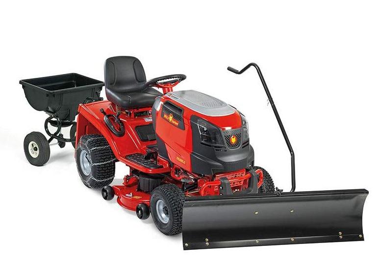 traktor Expert Wolf-Garten + rozmetadlo a sněhová radlice