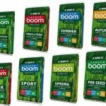 Hnojiva Garden Boom – výživa trávníku po celý rok