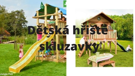 Dětská hřiště a skluzavky