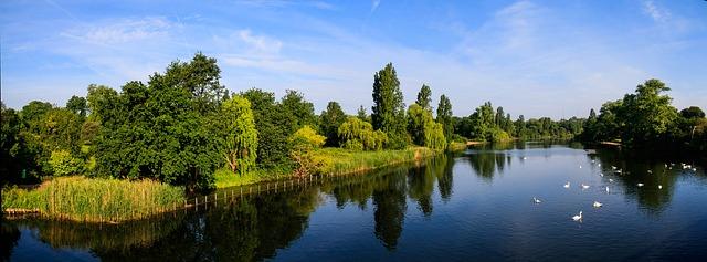 Nejkrásnější městské parky v Evropě