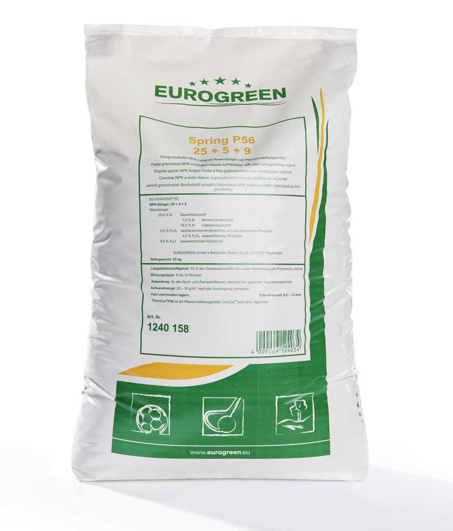 Trávníkové hnojivo Eurogreen Spring