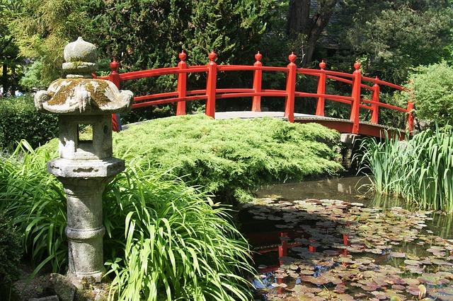 Půvab zahrad v japonském stylu